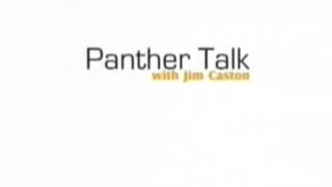 Thumbnail for entry Panther Talk with Matt Weber