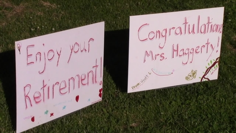 Thumbnail for entry Mary Haggerty Retirement Parade 6-15-2020