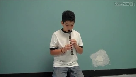 Thumbnail for entry Elijah Gonzalez recorder solo, February 2011, Dabbs Elementary, Mrs. Hendrix music class