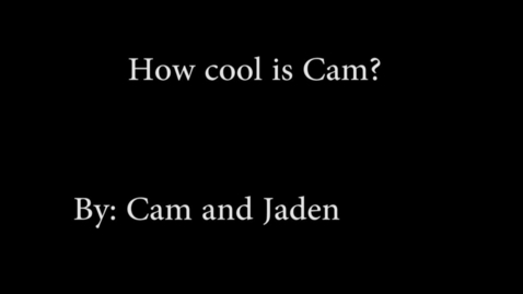 Thumbnail for entry Cool Cam - WSCN PTV (2015-2016)