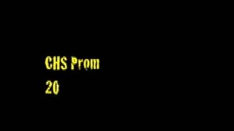 Thumbnail for entry CHS Prom - So You Think You Can Dance?