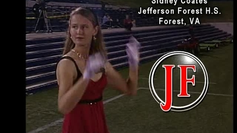 Thumbnail for entry Sidney Coates - drum major candidate