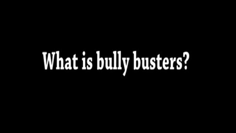 Thumbnail for entry Bully Busters Interview
