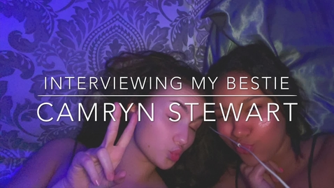 Thumbnail for entry Camy Interviews Her Bestie - PTV 2
