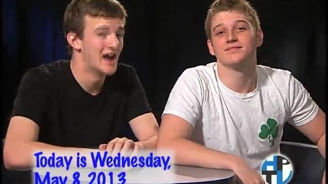 Thumbnail for entry Wednesday, May 8, 2013