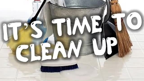 Thumbnail for entry It's Time to Clean Up-   (transition song for the classroom)