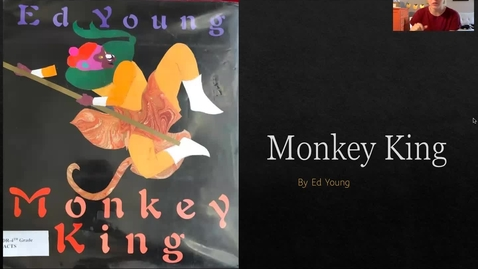 Thumbnail for entry Monkey King by Ed Young (Read Aloud)