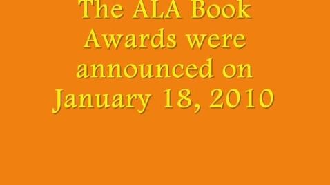 Thumbnail for entry ALA Awards