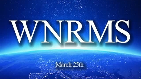 Thumbnail for entry WNRMS Morning Show 3/25/2015