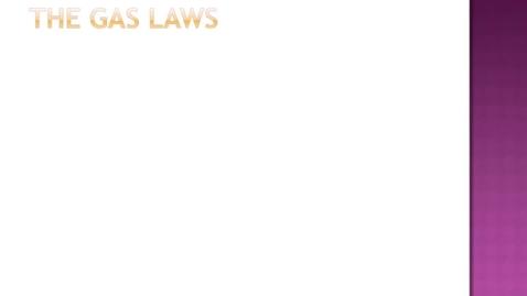 Thumbnail for entry Kleinsmith Gas Law Boyle/Charles