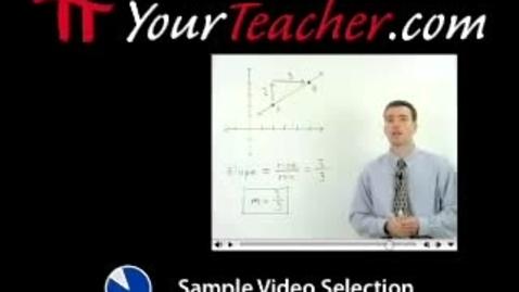 Thumbnail for entry Point Line Plane - YourTeacher.com - Geometry Help