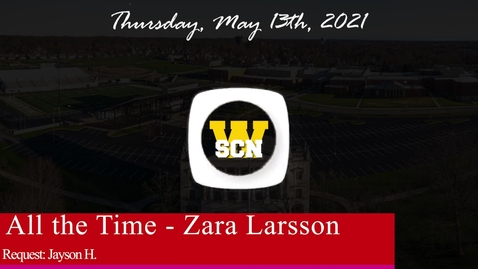 Thumbnail for entry WSCN - Thursday, May 13th, 2021