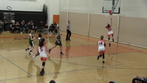 Thumbnail for entry OHS V-Girls v Burncoat Basketball