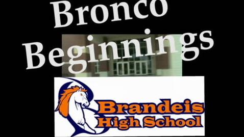 Thumbnail for entry Bronco Beginnings-Edited Version