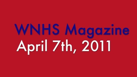 Thumbnail for entry WNHS-TV April 7, 2011