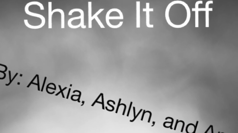 Thumbnail for entry Our Version of Shake it Off