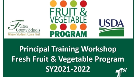 Thumbnail for entry FFVP Principal Training Workshop video 21-22