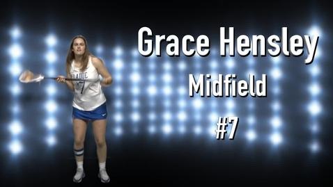 Thumbnail for entry Grace Hensley Senior Profile
