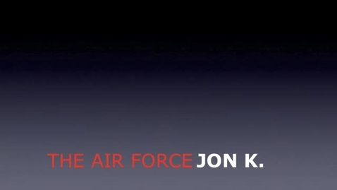 Thumbnail for entry Jonathans Air Force Movie