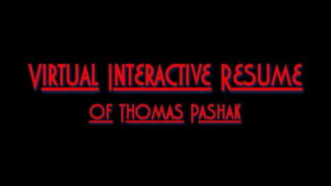 Thumbnail for entry Virtual Interactive Resume