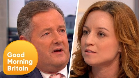 Thumbnail for entry Piers Morgan Challenges PETA Director Over 'Monkey Selfie' Legal Battle | Good Morning Britain