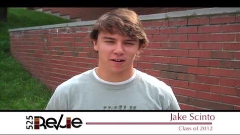 Thumbnail for entry CHS Senior Spotlight - Male Athlete - Jake Scinto