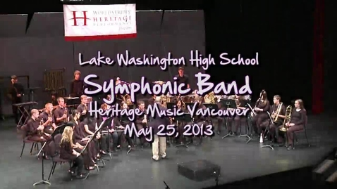 Thumbnail for entry LW Symphonic Band: Poeme