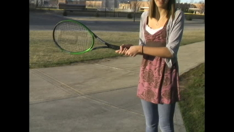 Thumbnail for entry Tennis Tryouts Segment