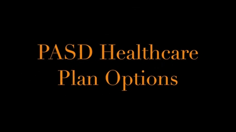Thumbnail for entry Health Plan Options