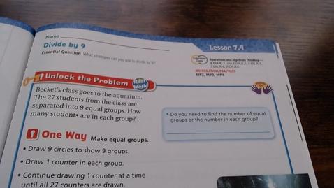 Thumbnail for entry Go Math Lesson 7.9