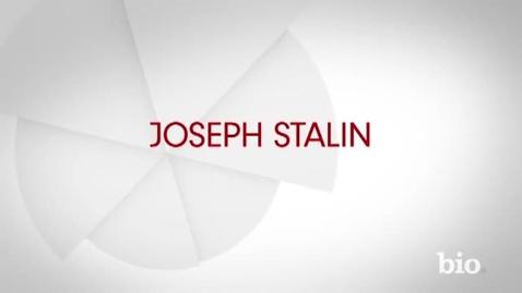 Thumbnail for entry Joseph Stalin Bio