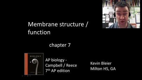 Thumbnail for entry Membranes and selective permeability