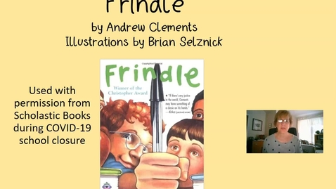 Thumbnail for entry Frindle Chapter 4