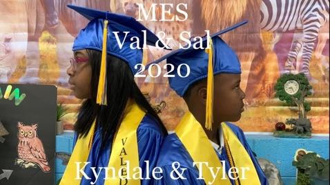 Thumbnail for entry MES Val & Sal FUN VIDEO 2020 #ccsdovercomescovid19