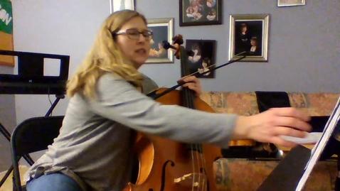 Thumbnail for entry 6th Grade Cello Part for D-Tour
