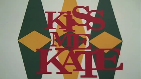 Thumbnail for entry Kiss Me Kate a sneak peak!