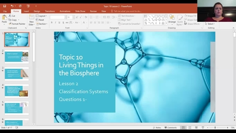 Thumbnail for entry Topic 10 Lesson 2 Questions 1-11