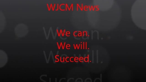 Thumbnail for entry WJCM News March 22 - FACS Eggs