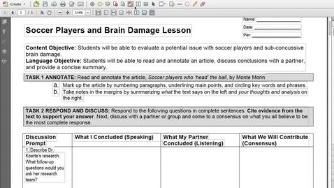 Thumbnail for entry Soccer Header Intro