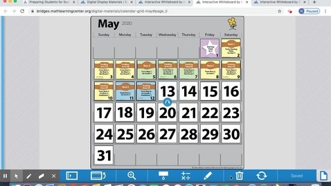 Thumbnail for entry May 12 Calendar
