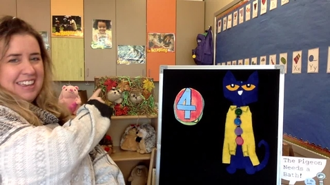 Thumbnail for entry Story Time : Wednesday, March 3 - Pete the Cat and His Four Groovy Buttons