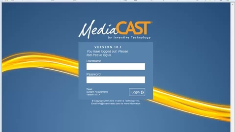 Thumbnail for entry Create A Segment In MediaCast