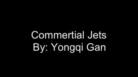 Thumbnail for entry Commertial Jets