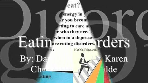Thumbnail for entry Eating Disorders