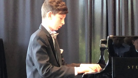 Thumbnail for entry The Snow is Dancing by Claude Debussy, performed by 13 year old at Steinway Music Competition