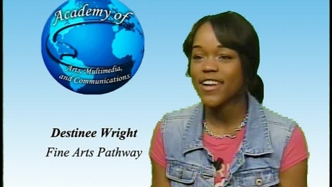 Thumbnail for entry Student Testimony:  Destinee Wright