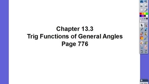 Thumbnail for entry Algebra II Ch 13.3