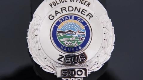 Thumbnail for entry Zeus - Gardner Police Dog
