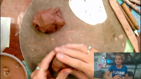 Thumbnail for entry beginning coil vase with template demo