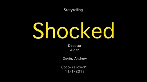 Thumbnail for entry Shocked